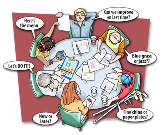 Management meeting skills